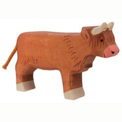 Holztiger Houten Speelgoed Schotse Hoogland Koe