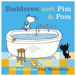 Badderen met Pim en Pom Badboek