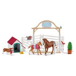 Horse Club Hannahs Gastpaarden met Hond Ruby