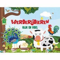 Kijk en Voel Boerderijdieren Boek