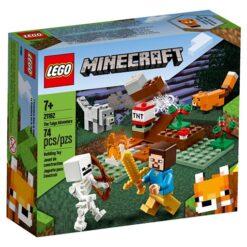 Minecraft Lego het Taiga Avontuur 21162