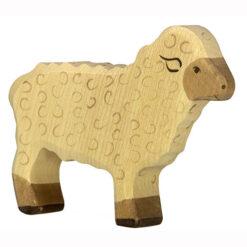 Houten speelgoed schaap van het merk Holztiger 80073