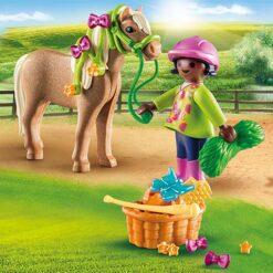 Meisje met Pony Verzorgings Set